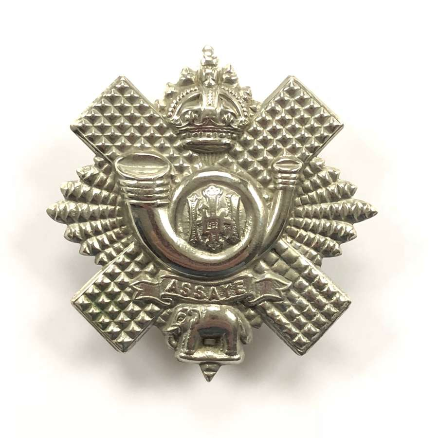 WW1/ WW2 Pattern Highland Light Infantry Cap Badge.