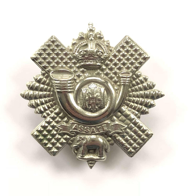 WW1/ WW2 Pattern Highland Light Infantry Cap Badge.