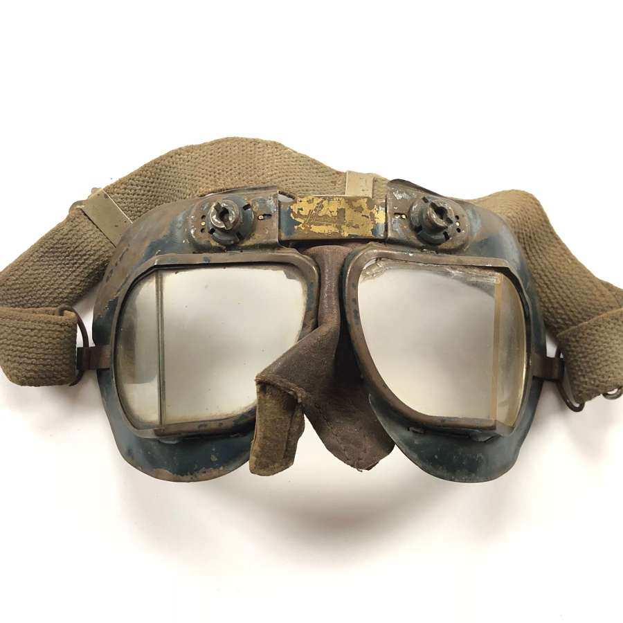 WW2 RAF MkVII Flying Goggles.