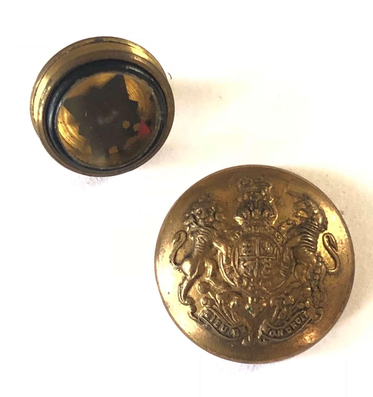 WW2 Escape General Service Button Compass