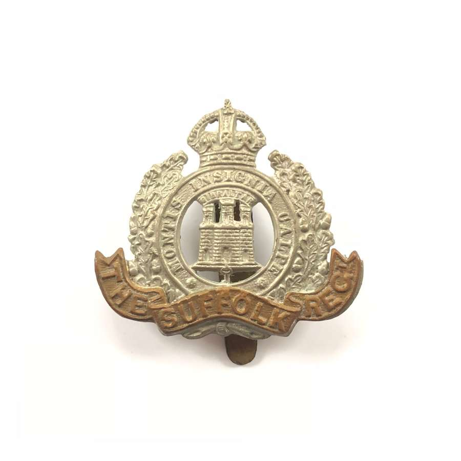 WW1 / WW2 Suffolk Regiment Cap Badge