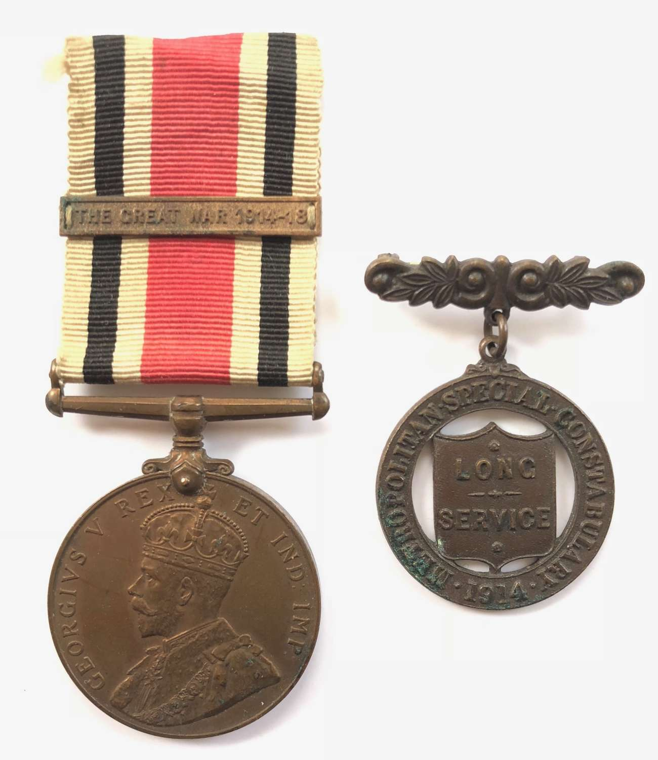 Special Constabulary Medal London Metropolitan Police