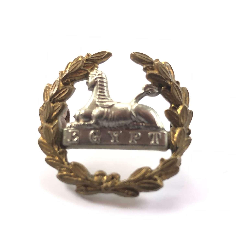 Victorian Edwardian Gloucestershire Regiment Large Back Badge.