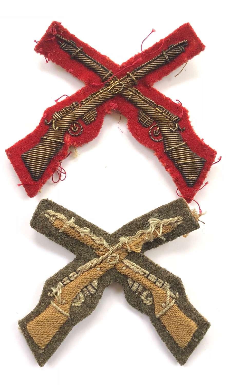 Pre WW1 British Army Marksman Bullion Badge.