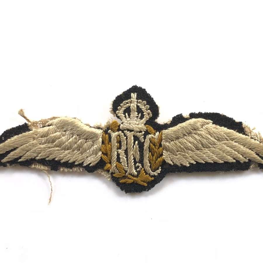 WW1 Royal Flying Corps RFC Pilots Wings