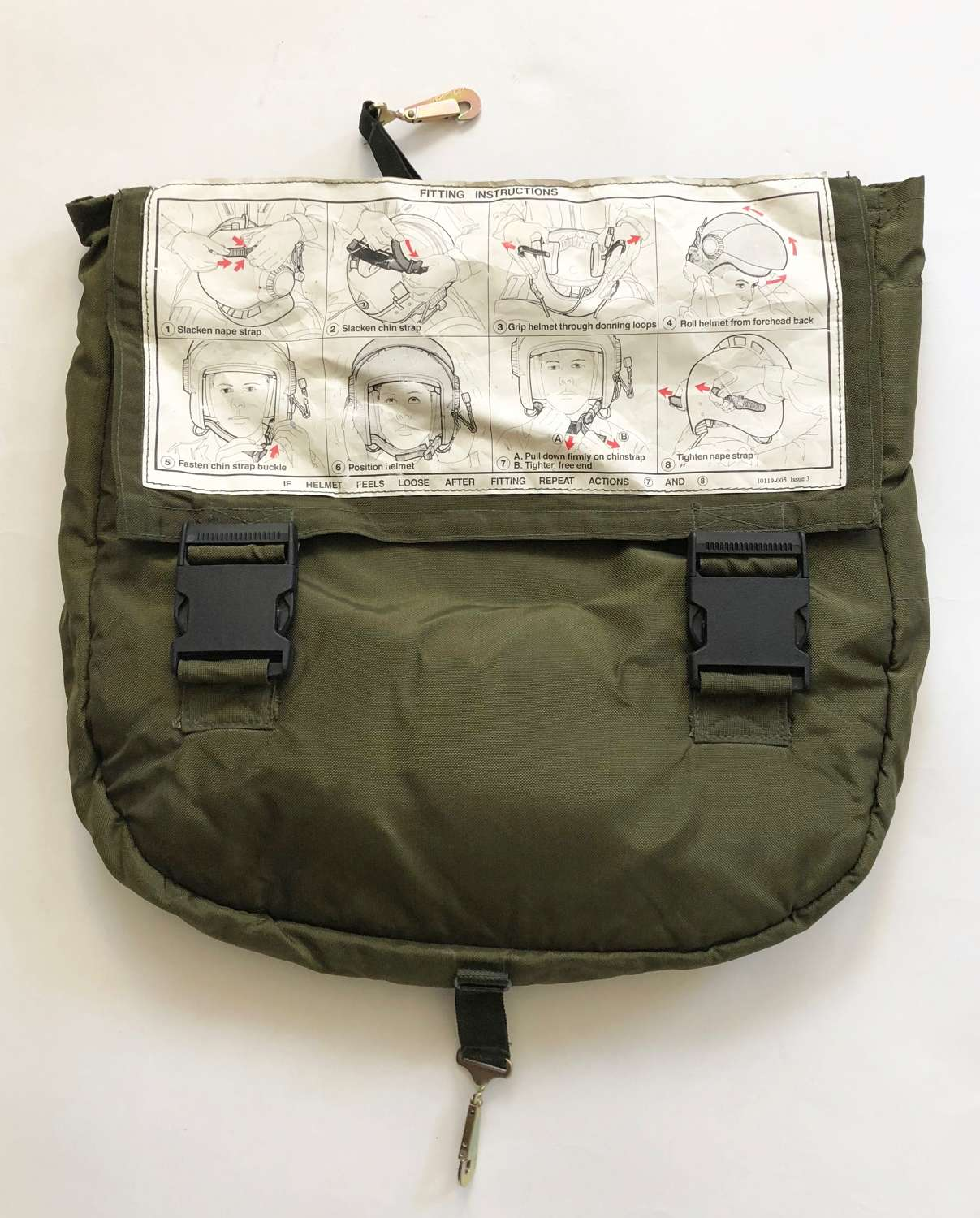RAF Mk15 Flying Helmet Storage Bag.