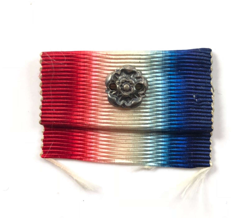 Original 1914 Star Medal Rosette.