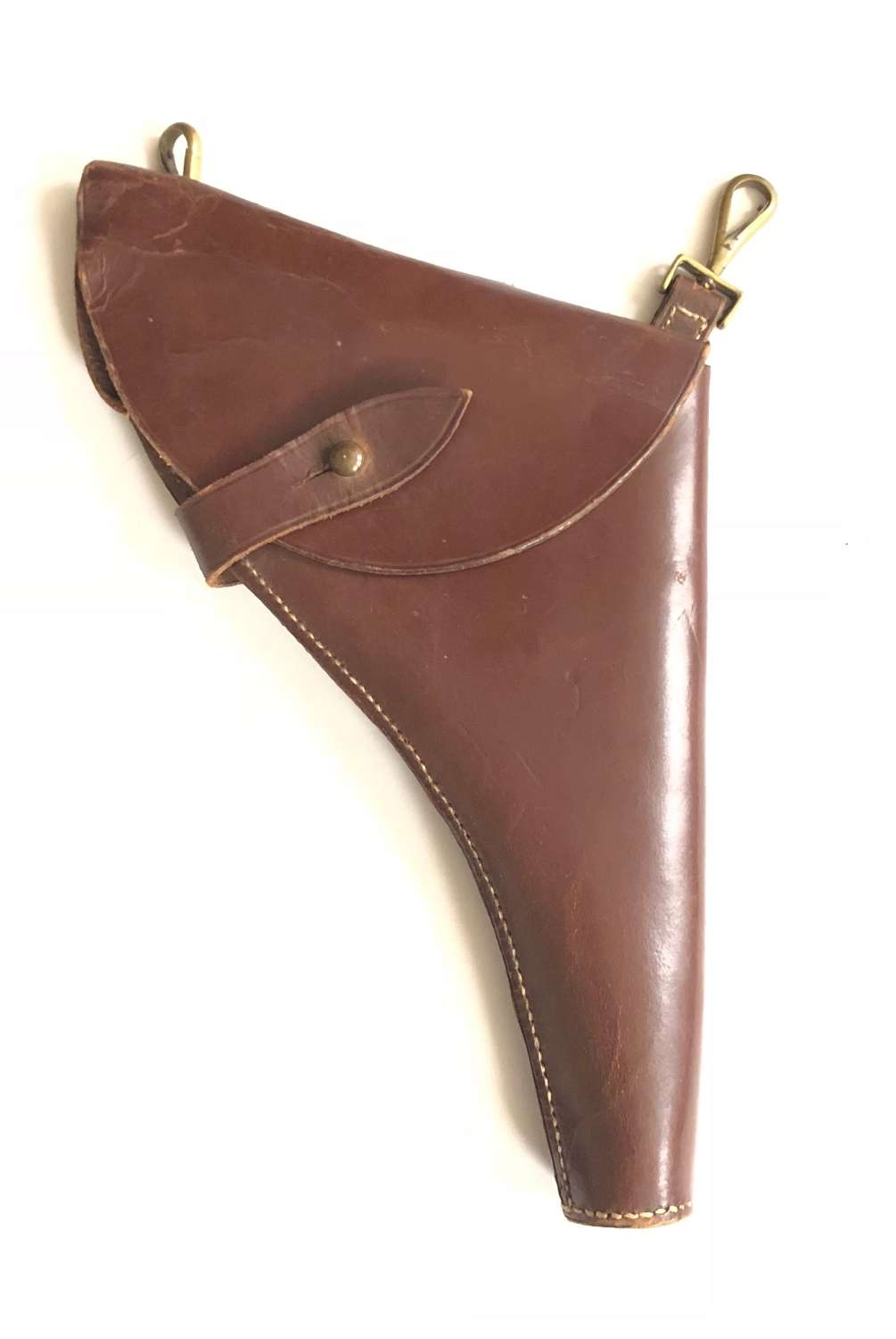 British Army Officer's Sam Brown Equipment Holster.