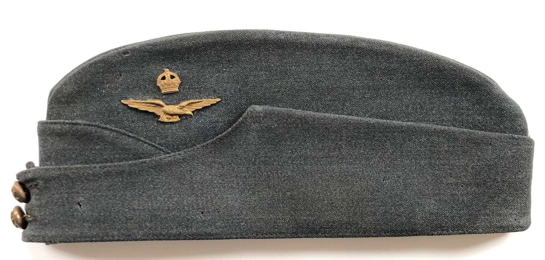 WW2 Period RAF Officer's Side Cap.