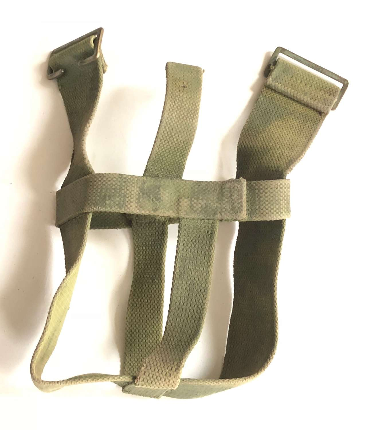 WW1 1908 Pattern Webbing Water Bottle Carrier Harness.