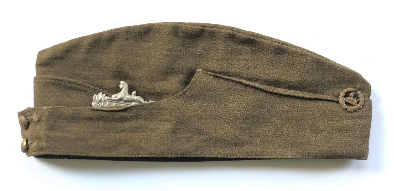 WW1 1940 Gloucestershire Regiment Field Service Side Cap.