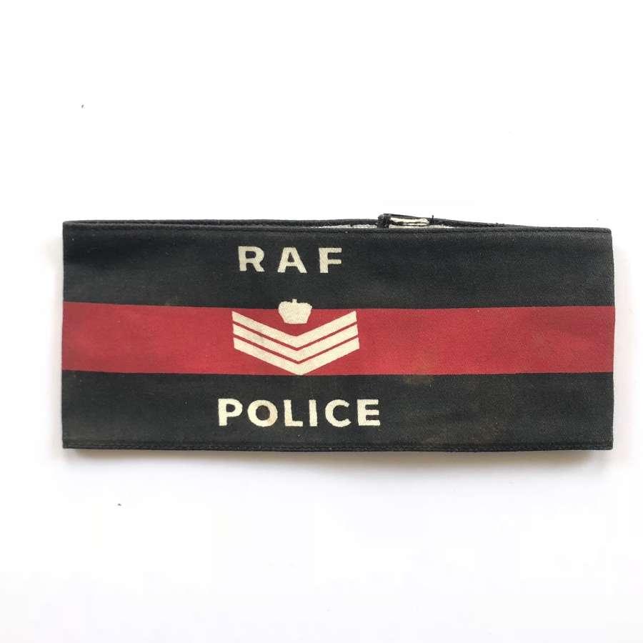 Cold War Period RAF Police Flight Sergeant's Armband.