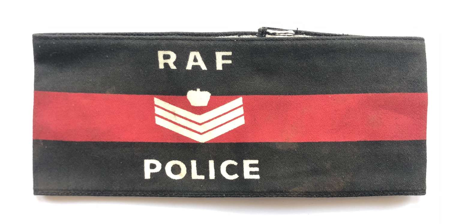 Cold War Period RAF Police Flight Sergeant's Armband.
