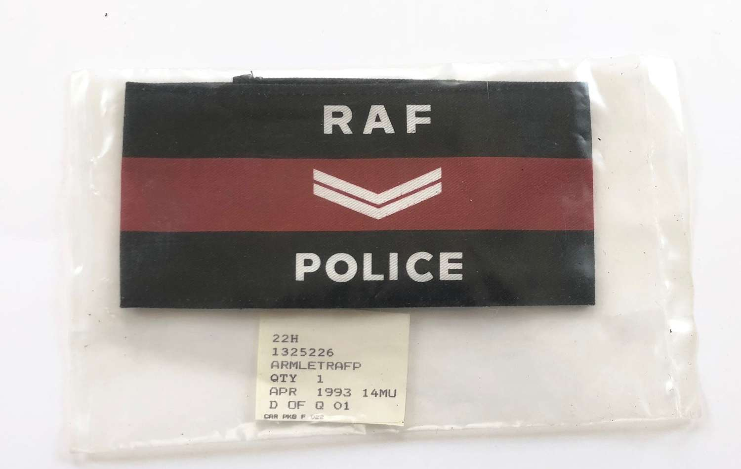 Cold War Period RAF Police Corporal's Armband.
