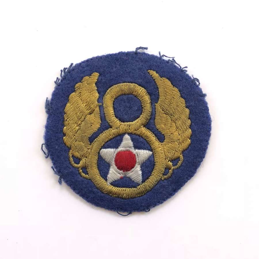 WW2 US 8th Airforce Shoulder Patch Badge.