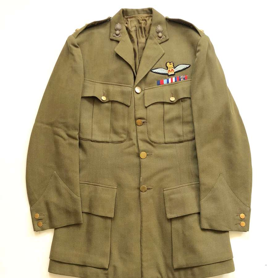 WW2 Royal Devon Yeomanry Artillery Army Pilot's Officer's Tunic.