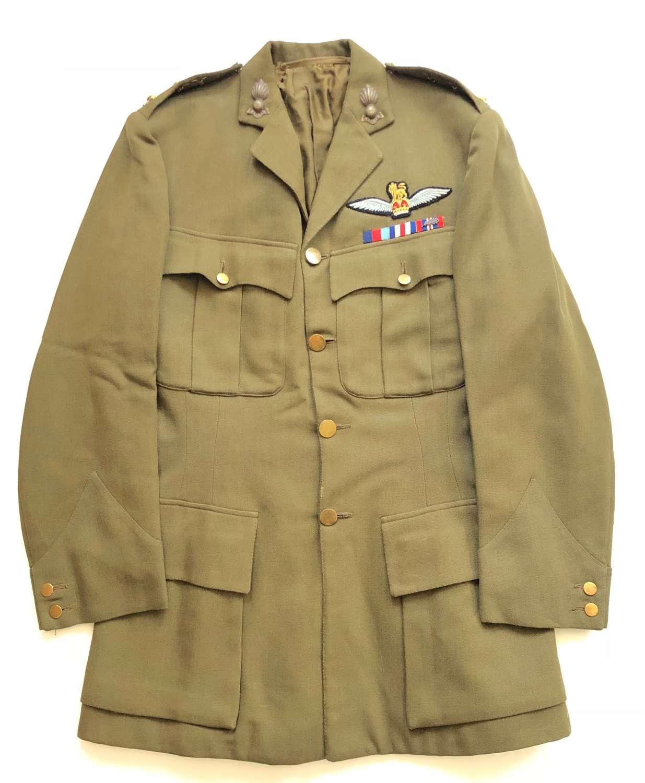 WW2 Royal Devon Yeomanry Artillery Army Pilot's Officer's Tunic.