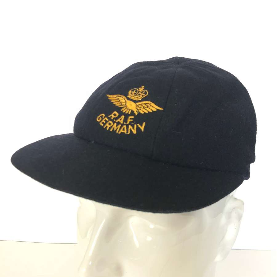 RAF Cold War Period RAF Germany Cricket Cap.
