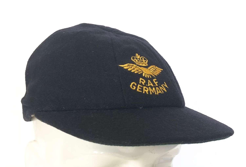 RAF Cold War Period RAF Germany Cricket Cap.