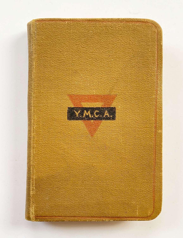 WW1 Soldier's Comfort YMCA New Testament.