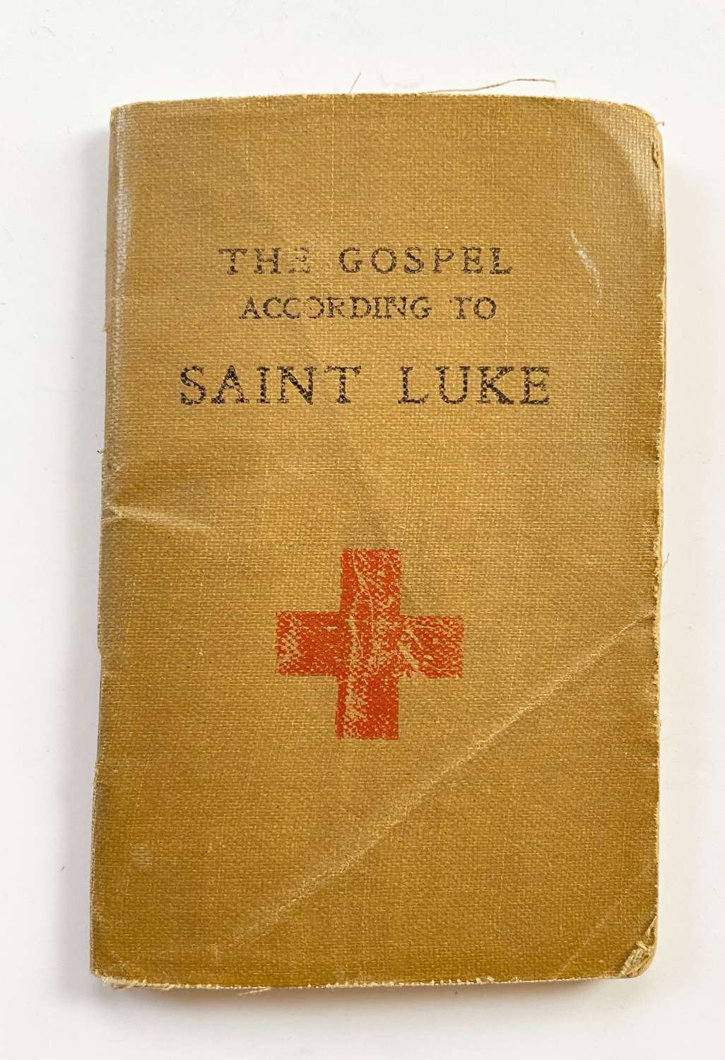 WW1 Soldier's Comfort Gospel of St Luke.