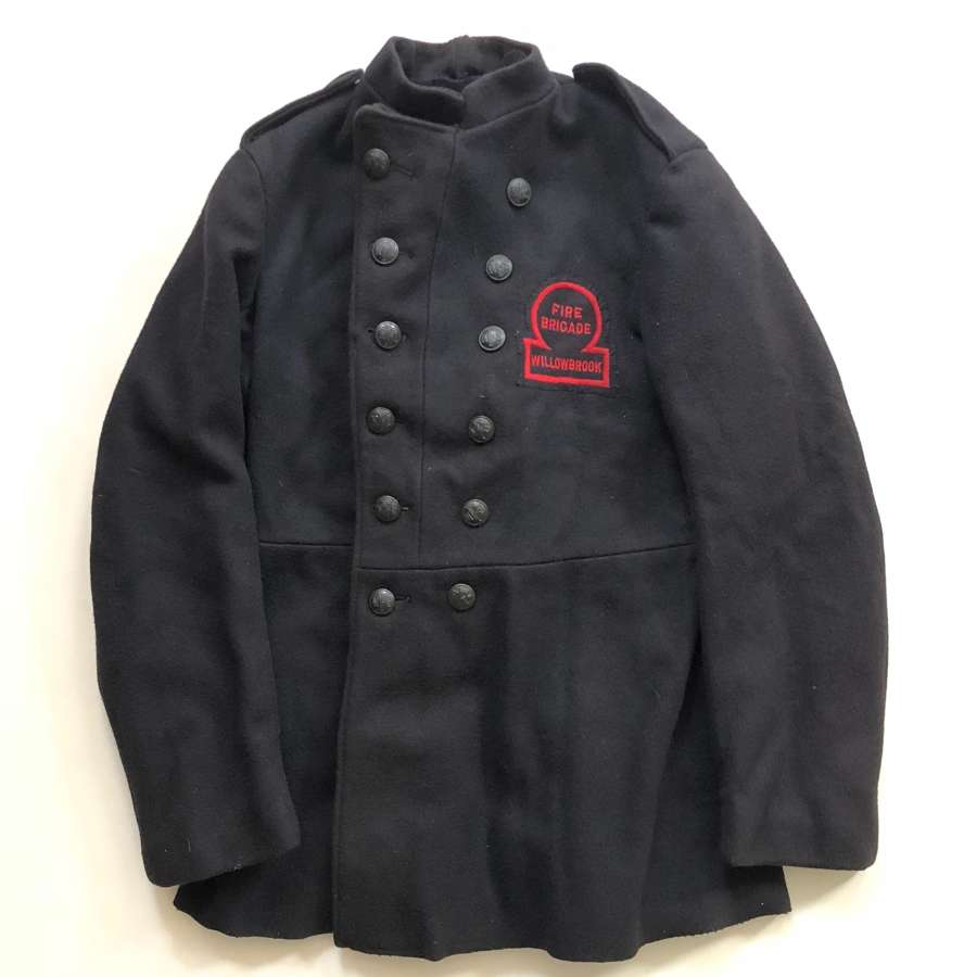 WW2 1944 Dated Willbrook National Fire Service Tunic.