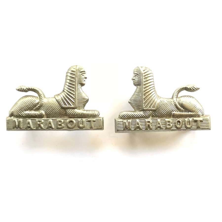 Dorsetshire Regiment Pair of Other Rank's Collar Badges.