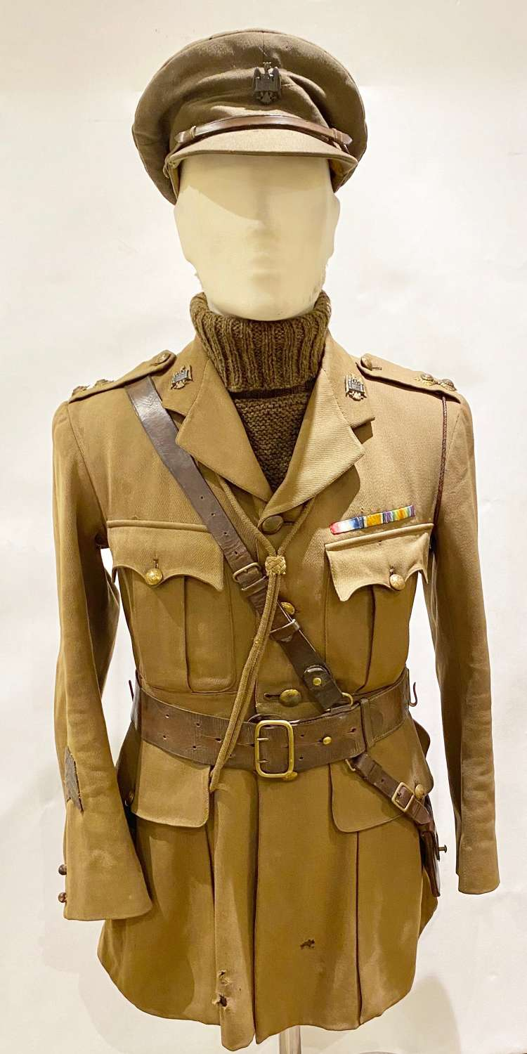 WW1 Bedfordshire Yeomanry Attributed Officer's Uniform.