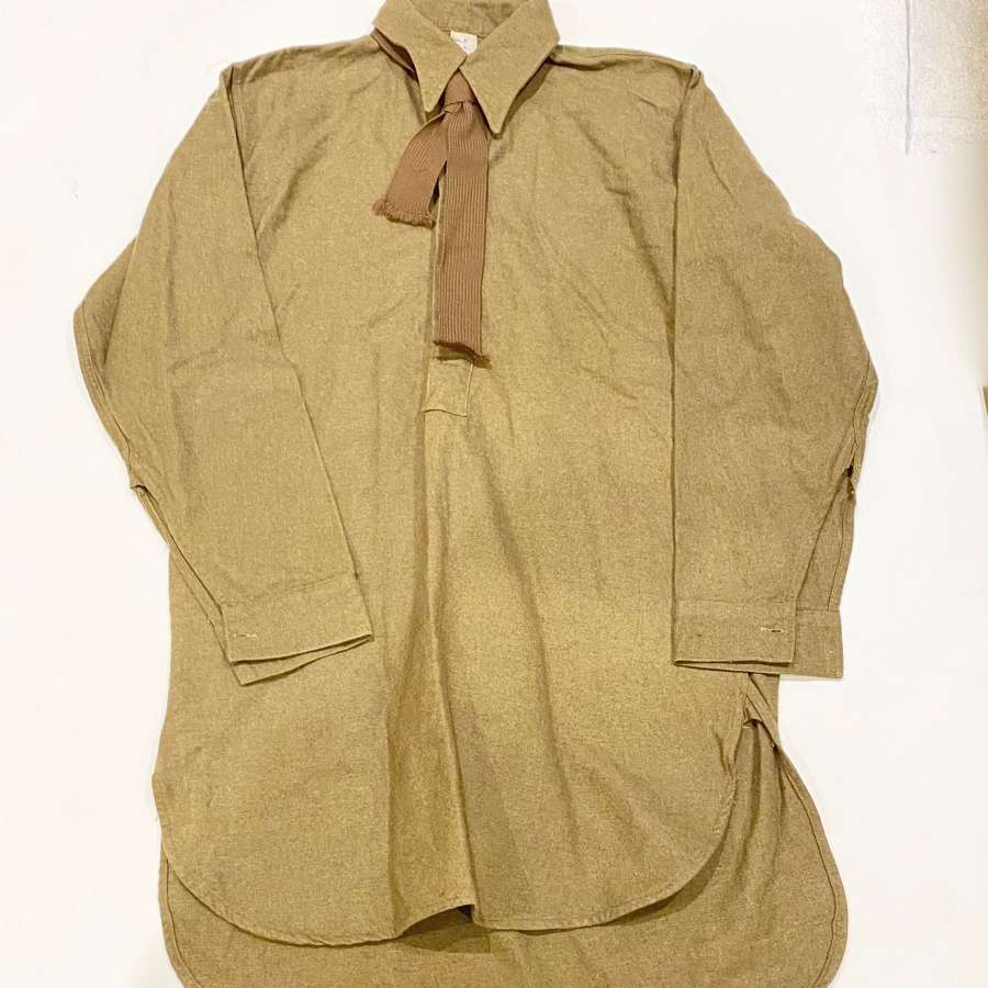 WW2 1945 Dated British Army Other Ranks Shirt & Tie