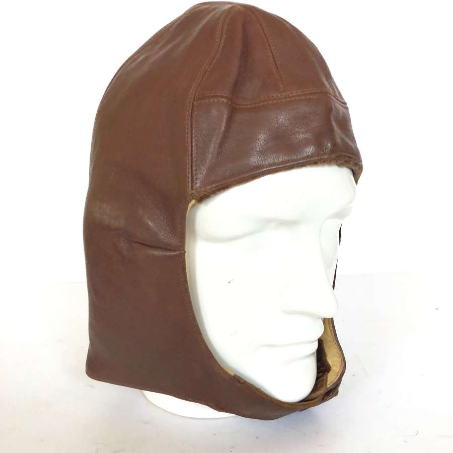 RAF 1930 Pattern, Leather Flying Helmet.