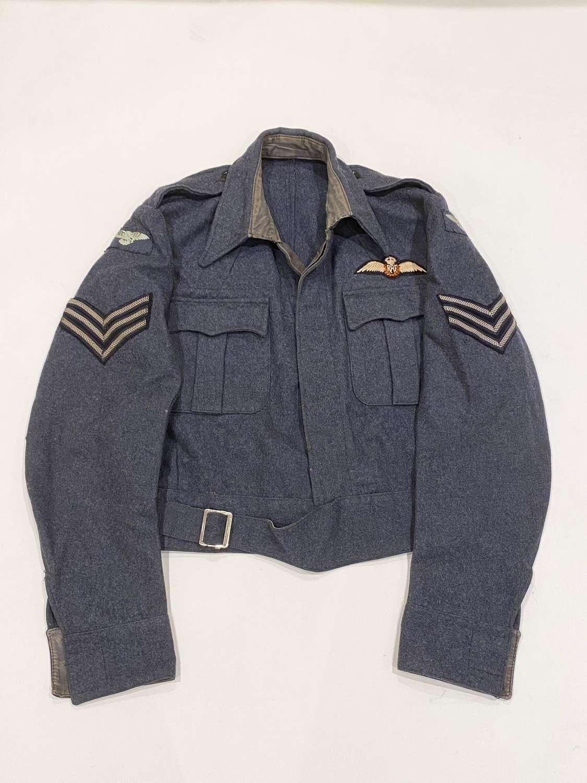 WW2 1944 RAF Pilot's Large Size War Service Battledress Blouse.