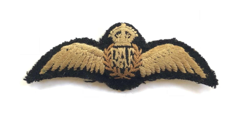 WW2 RAF Padded Pair of Pilots Wings.