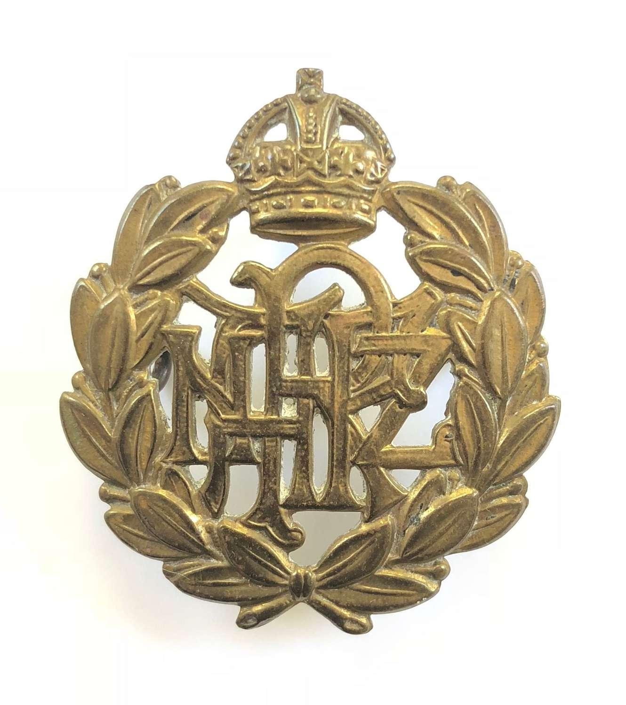 WW2 Royal New Zealand Air Force RNZAF Cap Badge