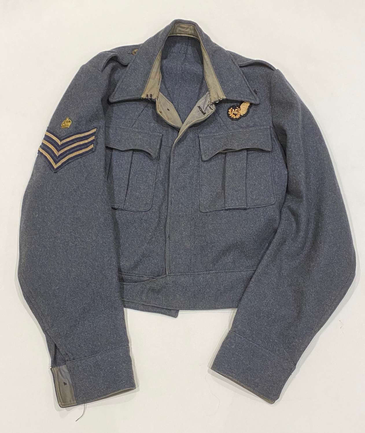 RAF WW2 1943 Large  Suits Aircrew Battledress Air Gunner Blouse