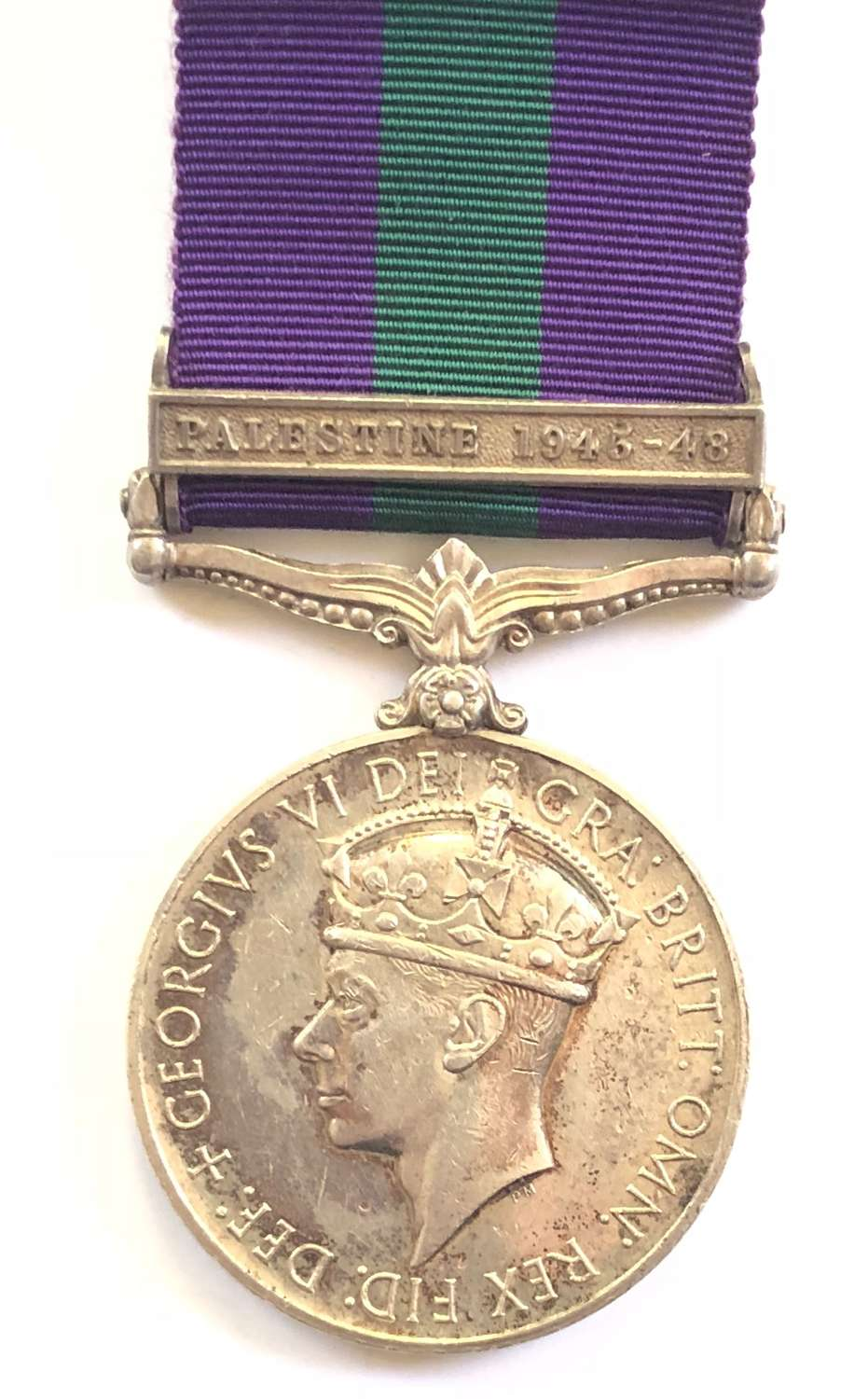 4th / 7th Dragoon Guards General Service Medal