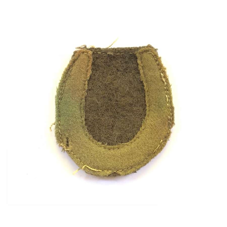 WW1 British Army 37th Division cloth felt formation sign.