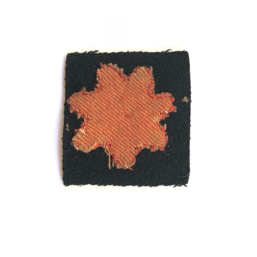 WW1 British 35th Division WW1 cloth formation sign.