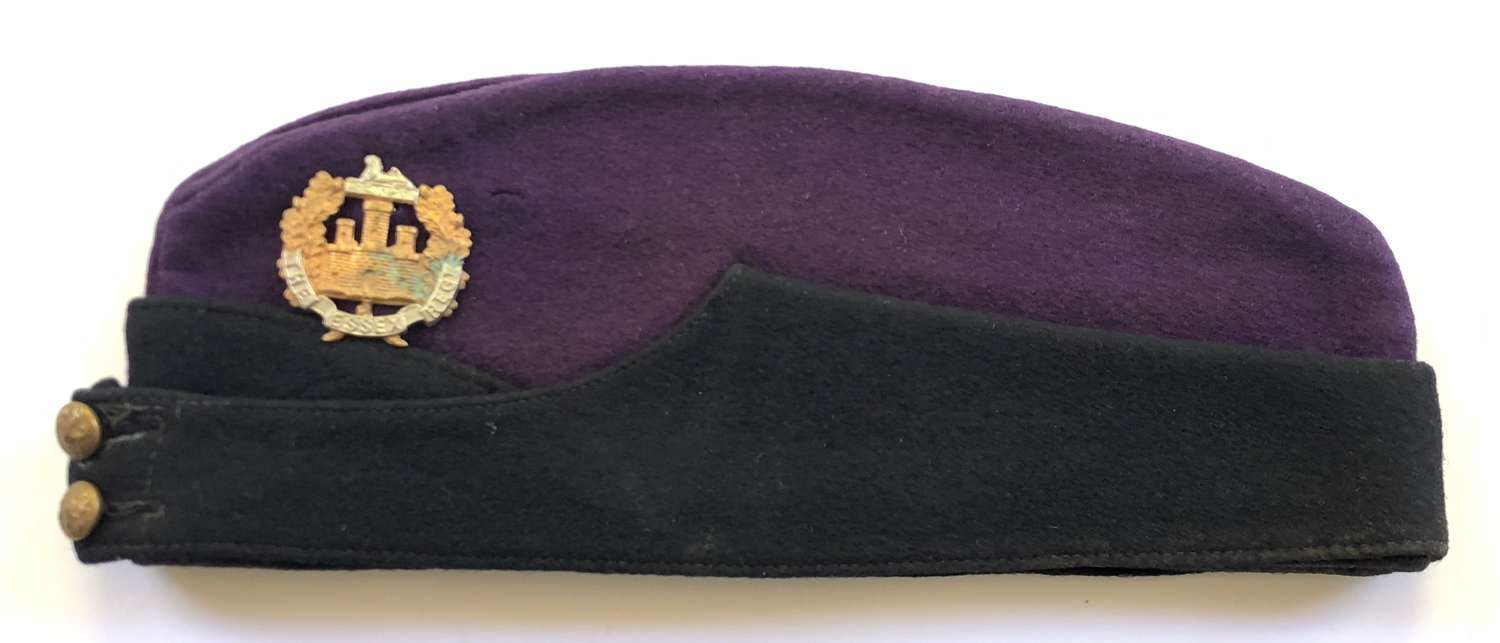 Essex Regiment Other Rank's Coloured Field Service Side Cap.