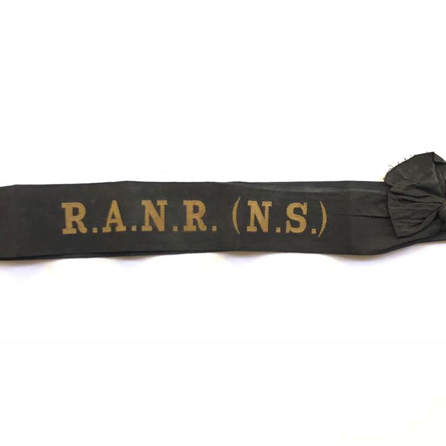 Royal Australian Naval Reserve (NS) Tally.