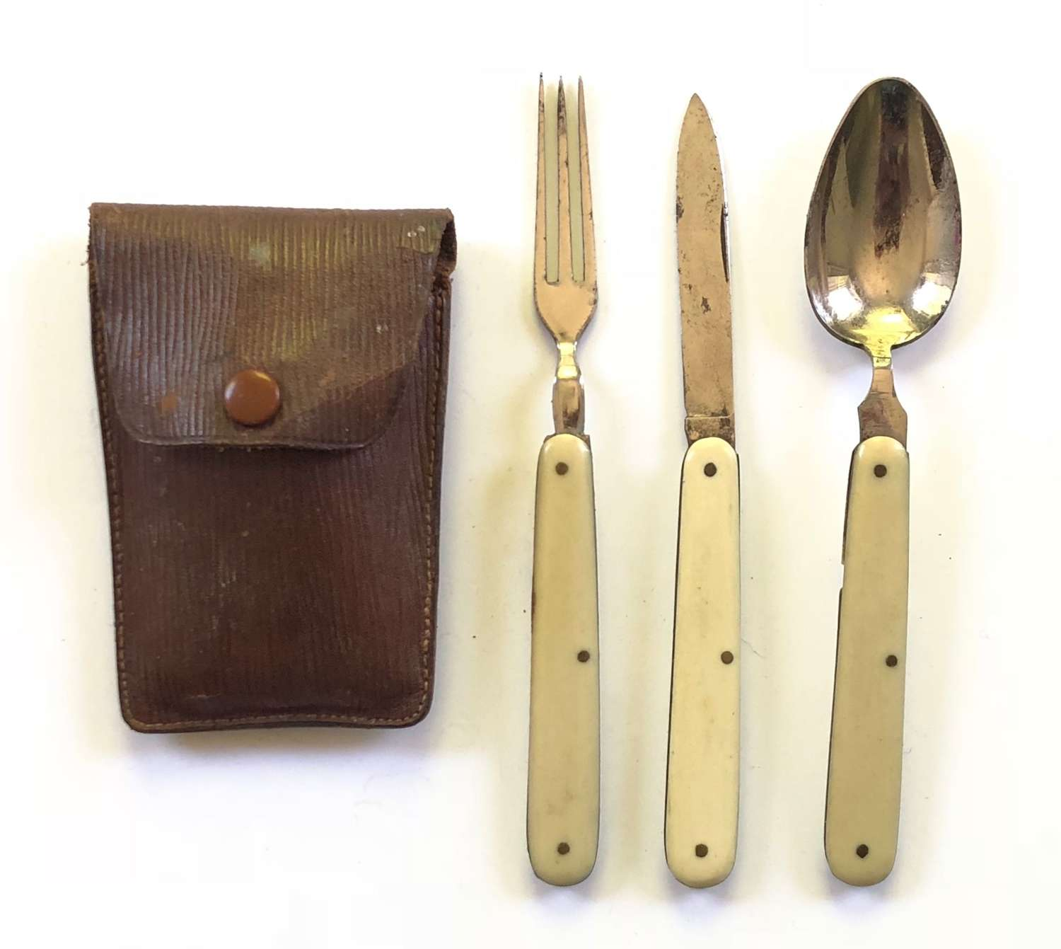 WW1 Period Officer's Private Purchase Eating Set