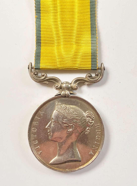 Royal Marine Artillery Baltic Medal 1854-55.
