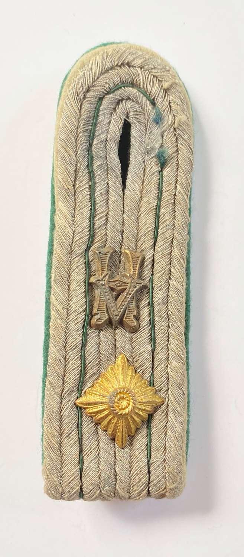 WW2 German Police Officer's Shoulder Strap.