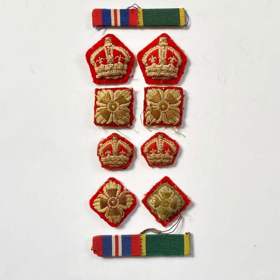 WW2 Period Infantry Officer's Rank Stars.