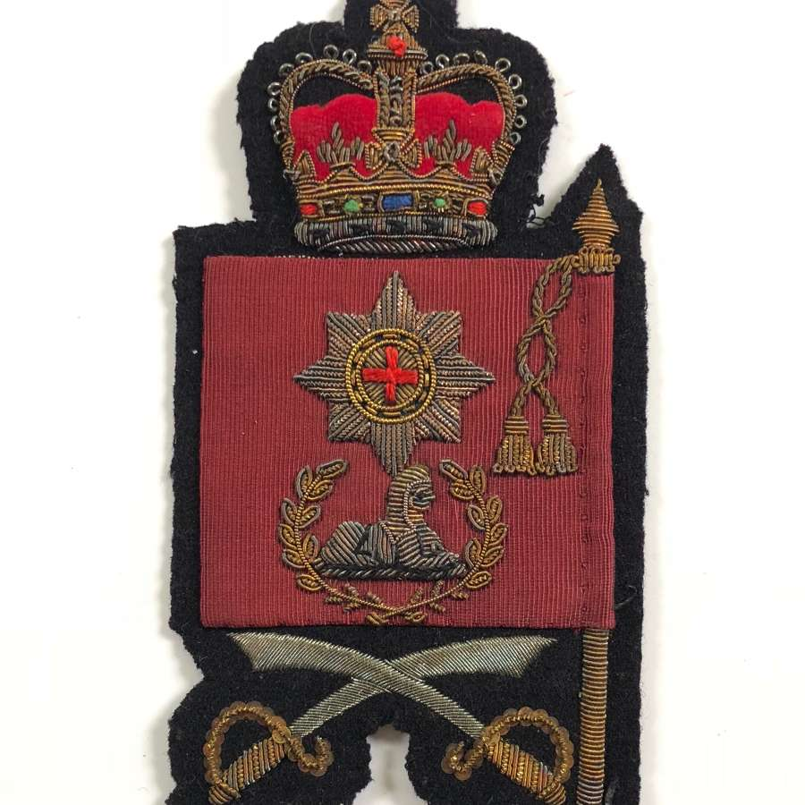 Coldstream Guards Cold War Period Colour Sergeant Arm Badge.
