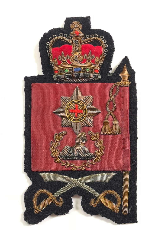 Coldstream Guards Cold War Period Colour Sergeant Arm Badge.