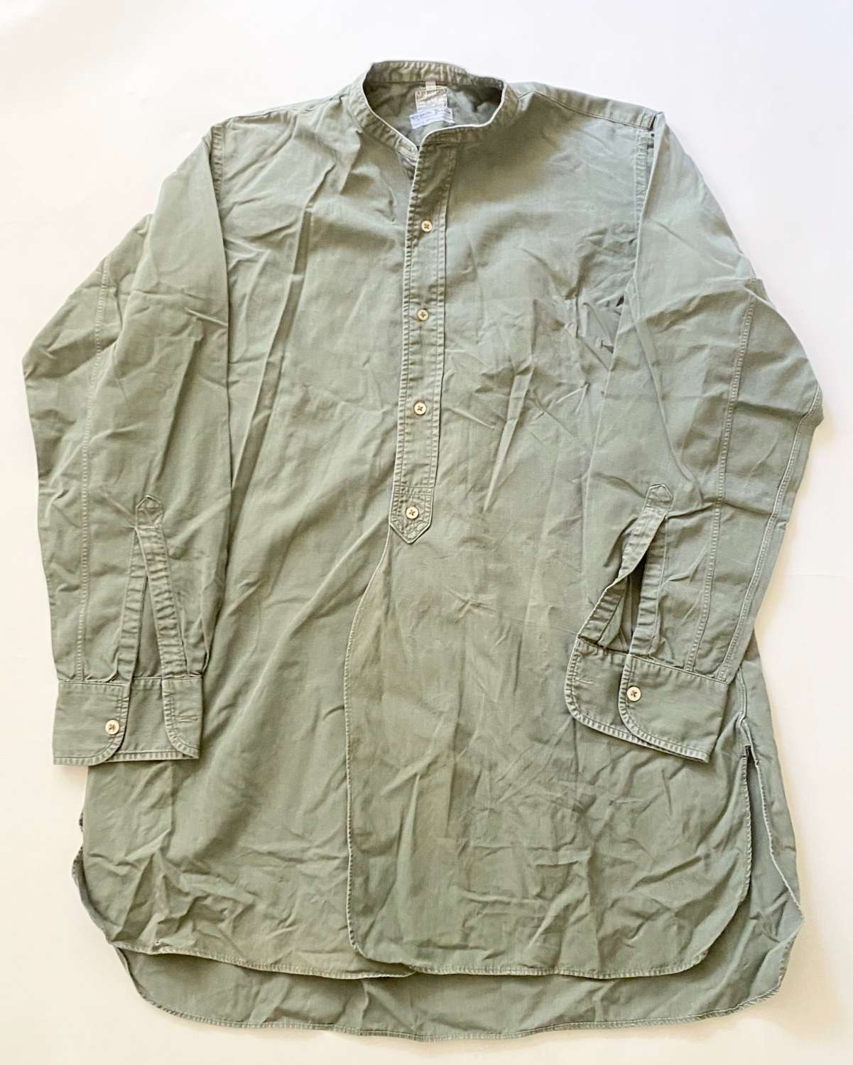 WW1 / WW2  Pattern British Army Officer's Shirt.