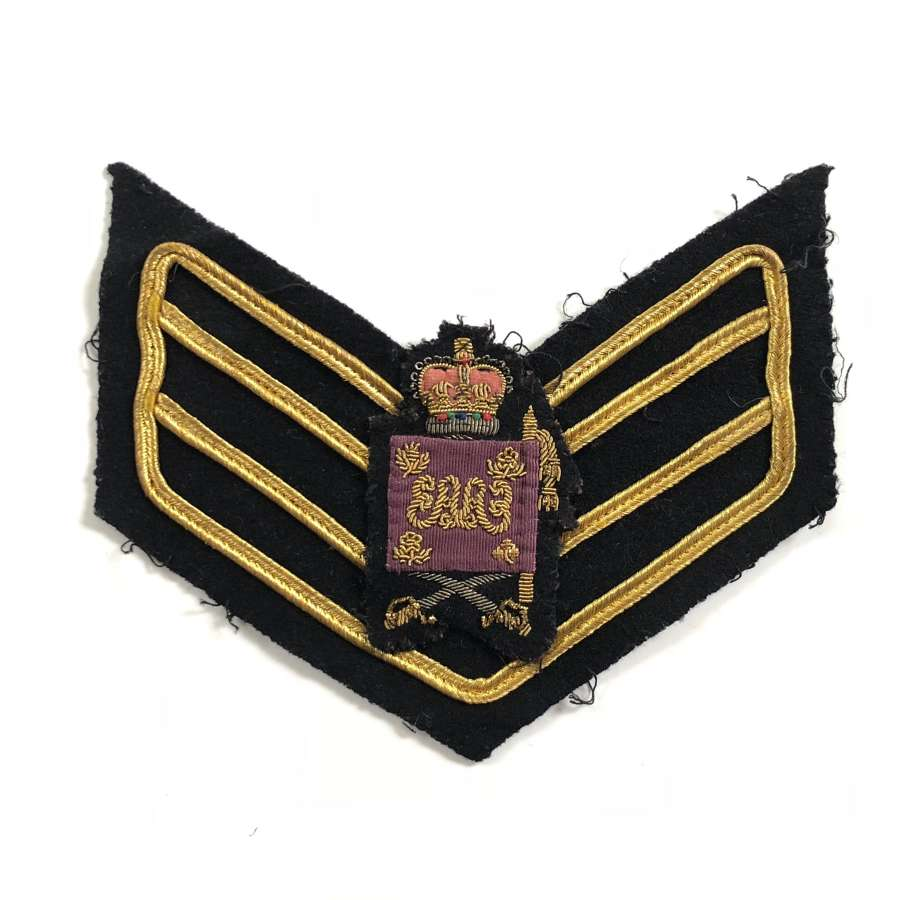 Grenadier Guards Cold War Period Colour Sergeant Arm Badge.