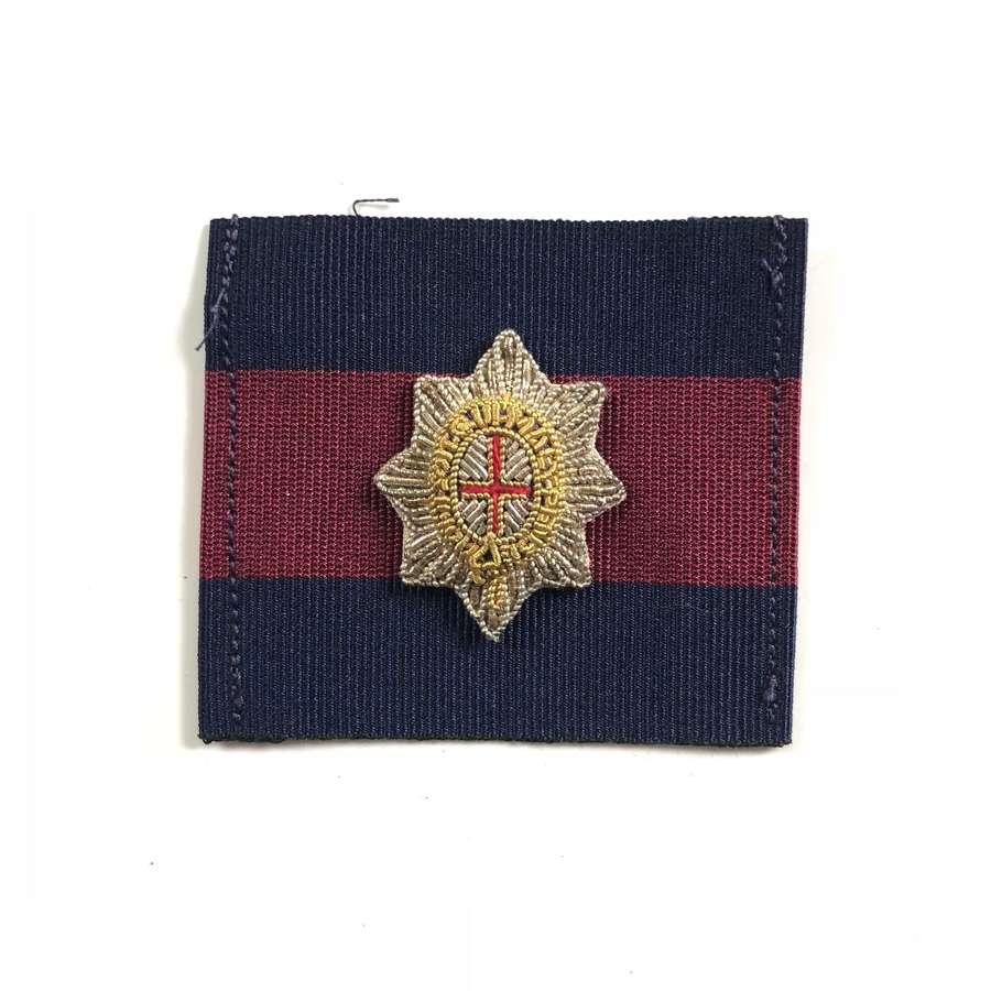 Coldstream Guards Officer's Beret Badge.