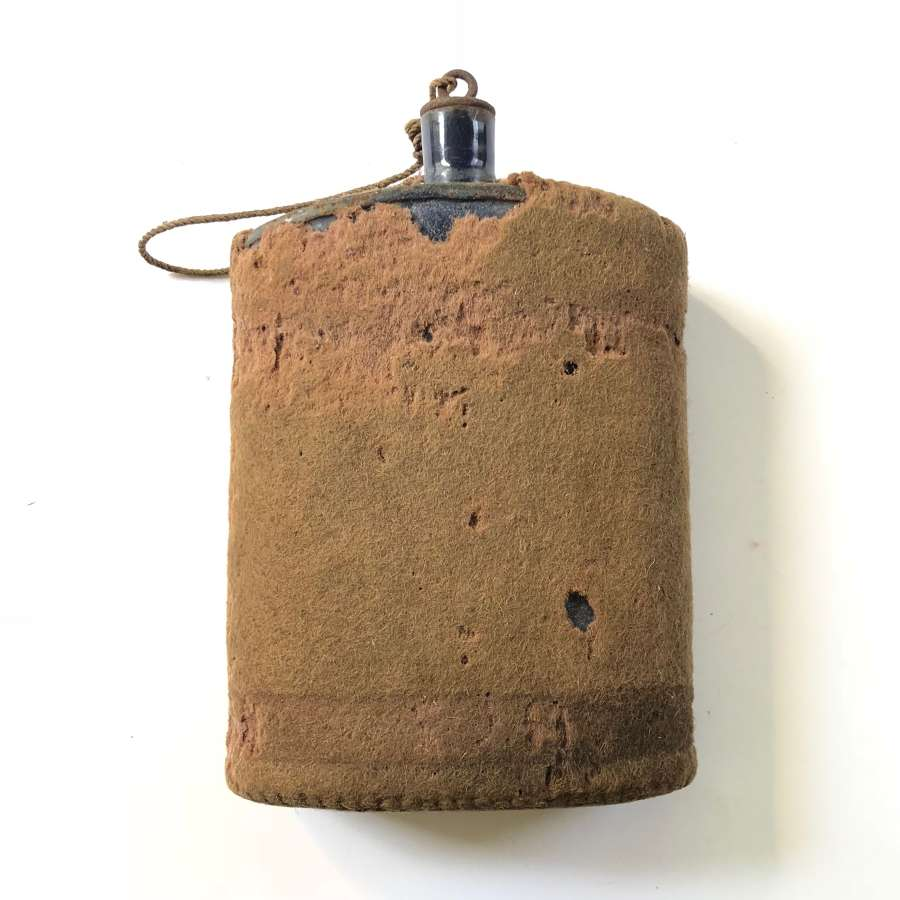 WW1 Period 1908 Webbing Equipment Water Bottle.