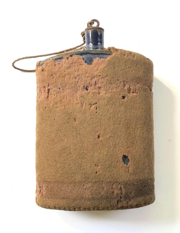WW1 Period 1908 Webbing Equipment Water Bottle.